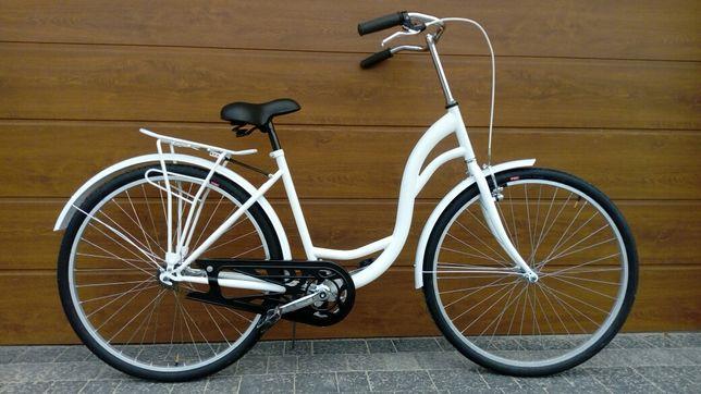 Nowy nieużywany rower łabędź miejski / 28' koła