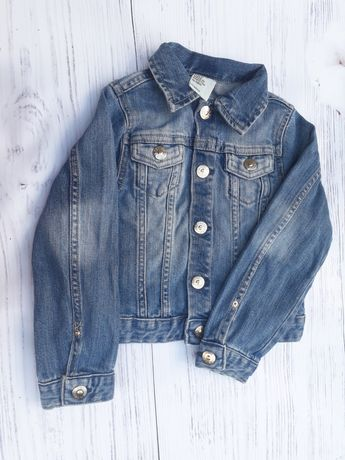Джинсова куртка HM 4-5 років