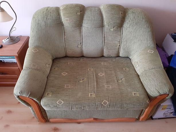 Fotel do spania