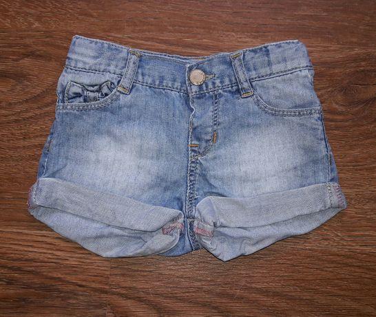 Фирменные джинсовые шорты/шортики для девочки ZARA