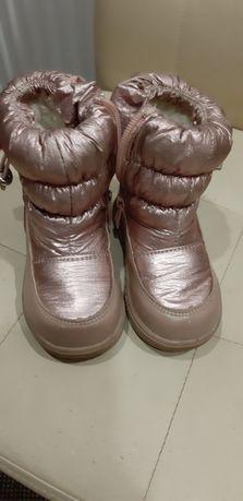 Чобітки дитячі,сапоги 23 розміру зимові