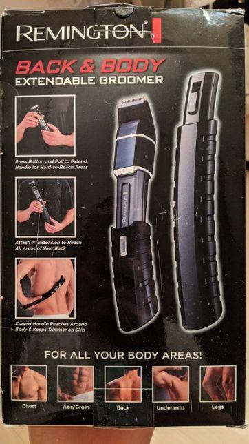 Maszynka Remington z wydłużającą się rączką do golenia pleców i ciała