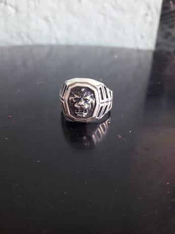 Кольцо мужское серебрянное