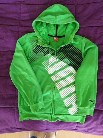 bluza zielona puma 152