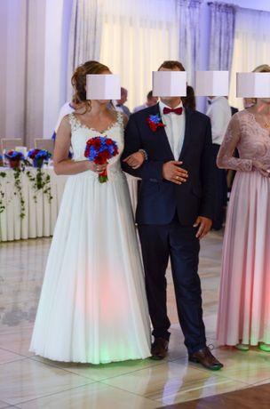 Suknia ślubna Estelle rozmiar 38 lekka