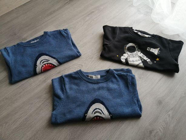 Bluzki, koszulki 98/104 - H&M Zara