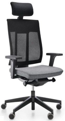 Fotel e-MOTION-HRU-LP2 ST33-POL R15K-CR, krzesło obrotowe