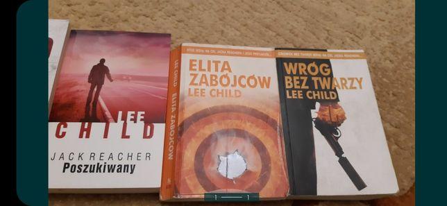 Lee Child 3szt. Elita zabójców, Wróg bez twarzy, Jack Reacher ...
