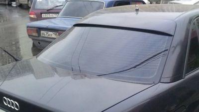 Бленда на Ауди100. 80/90, А6 С5/4,накладка на заднее стекло.