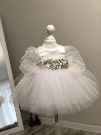 Детское платье на годик, сукня на рік, плаття на рочок, дитяча сукня,
