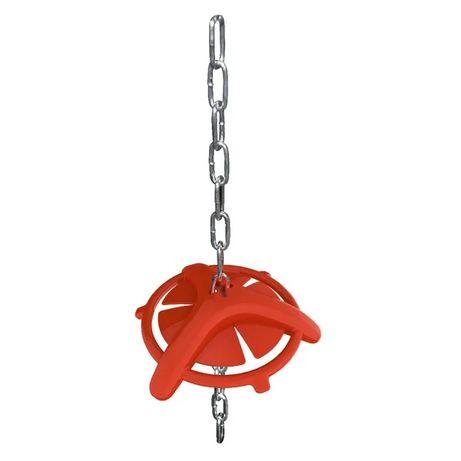 Gryzak dla świń z łańcuchem, 75 cm - zapewnia zabawę w stadzie