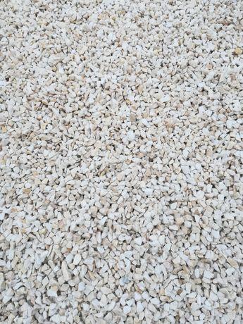 Kamień ogrodowy Biała Marianna kamień ozdobny Grys granitowy Kora