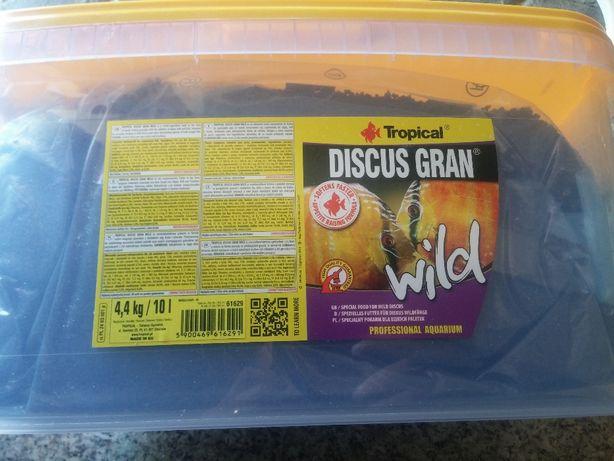 Granulado Tropical Discus Gran wild avulso 500ml