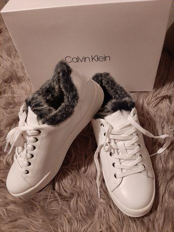 Oryginalne nowe białe buty Calvin Klein rozmiar 38