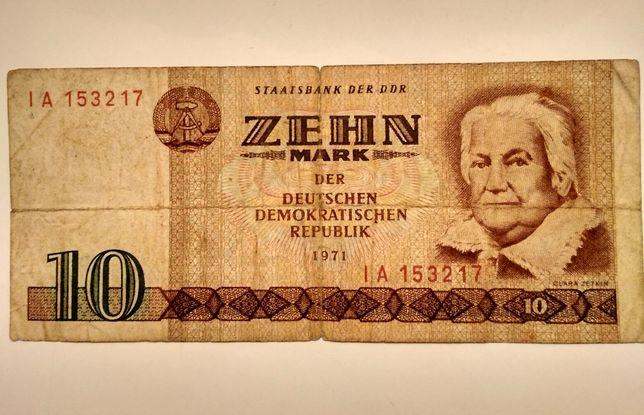 10 марок 1971 рік