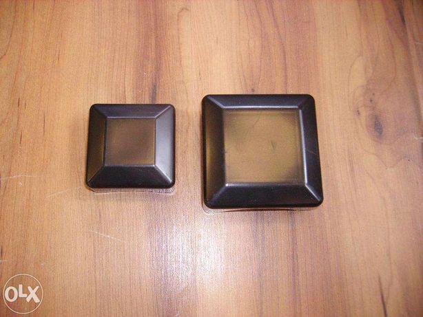 Kapturek, nasadka, zaślepka 60x60 czarna