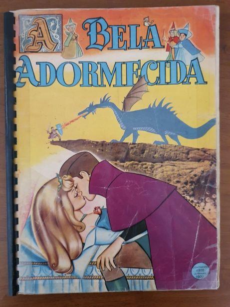 Colecção de Cromos A Bela Adormecida - Completa