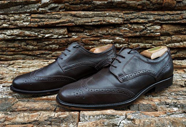Броги George 42 размер  туфли мужские кожа