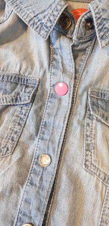 koszula jeansowa funky diva, rozm.104