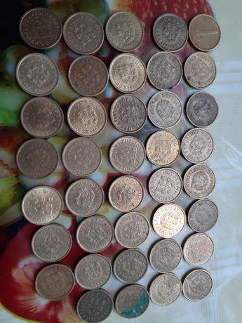 Moedas antigas Escudos e Centavos