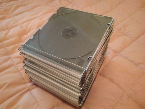 Пластикові коробки для дисків - 23 штуки
