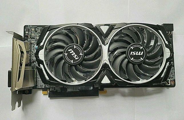 Placa Gráfica AMD MSI RX 580 8GB para Jogos ou mineração criptomoedas