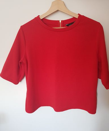 Bluzka czerwona New Look L
