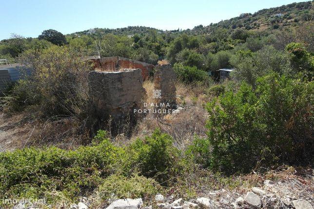 Ruina com terreno espaçoso, em zona tranquila