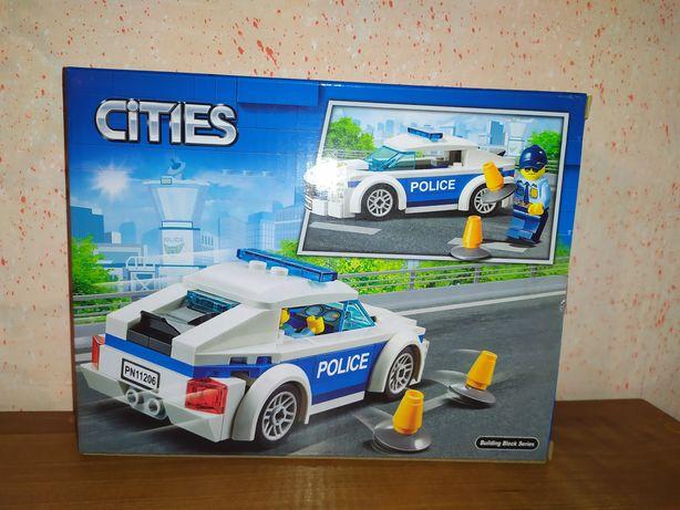 Лего новый конструктор детская машинка полиция поліція тачка lego