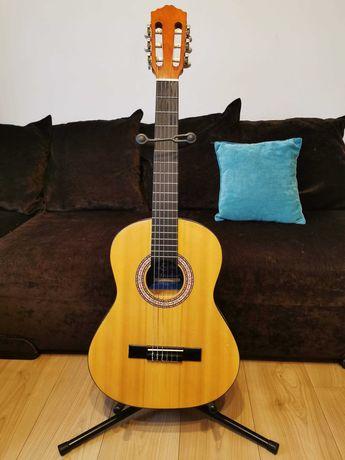 Gitara klasyczna 3/4 Ever Play model EV-132N +pokrowiec +stojak (BDB)