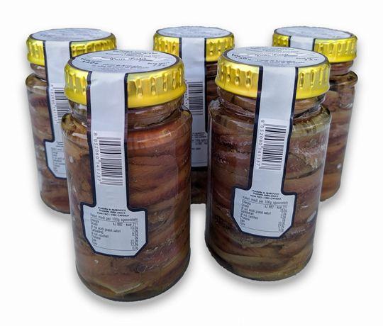 Filety z Anchois w Oliwie - 140g