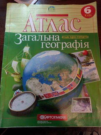 Атлас з географії 6 клас Картографія