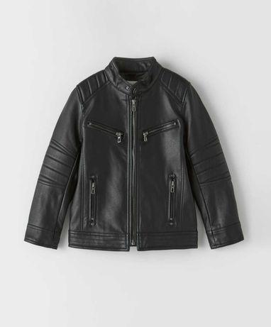 Куртка в байкерском стиле для мальчика 146-152 фирмы Zara