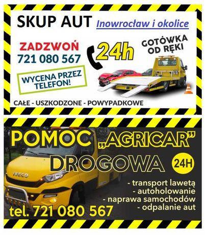 Skup Aut za Gotówke od ręki odbiór 24h całe uszkodzone Pomoc Drogowa