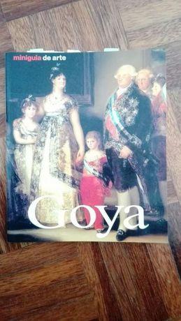Livros sobre Goya e Monet