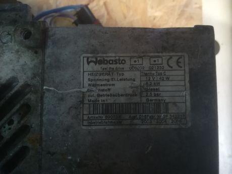 Piec webasto thermo top c diesel na części