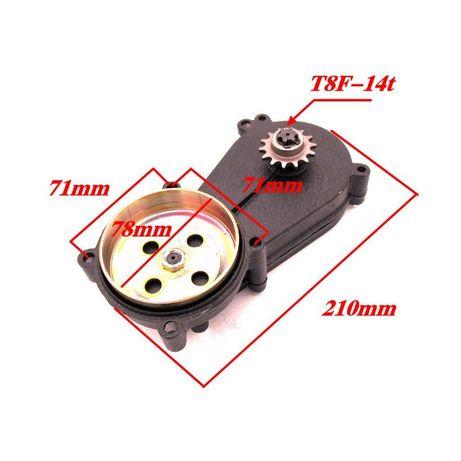 Редуктор на мини мото покет пит байк бензо тример для триммера триммер