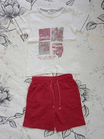 Летний костюм шорты футболка на мальчика 92-98р.