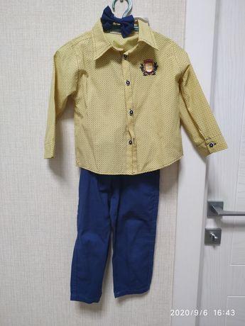 Костюм нарядный на мальчика 3-4 года, рост 92/98