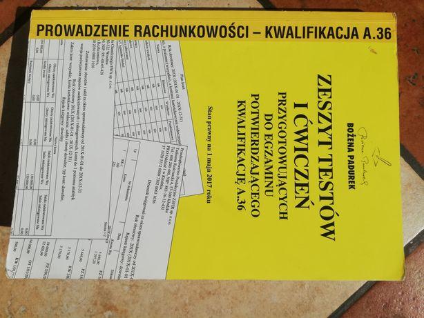 Zeszyt testów i ćwiczeń do kwalifikacji A.36