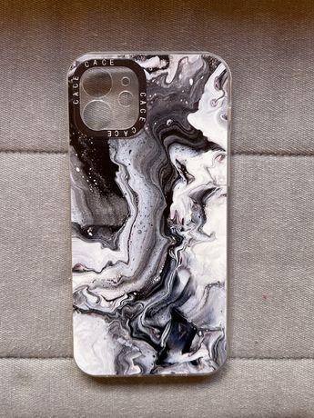 Capa efeito mármore Iphone 12