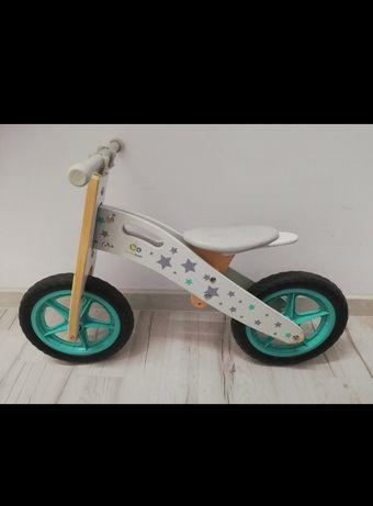 Rowerek biegowy drewniany Kinderkraft Runner