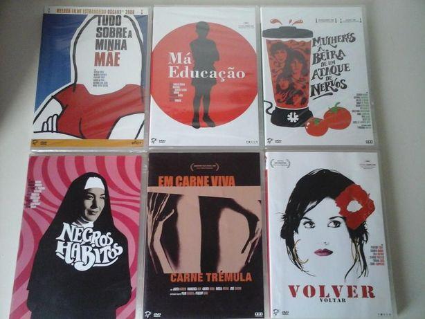 Filmes de Pedro Almodovar Coleção DVDs Fala com ela Negros Hábitos Mãe