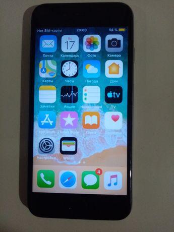 продажа телефона айфон 6 на 64гб(оригинал)
