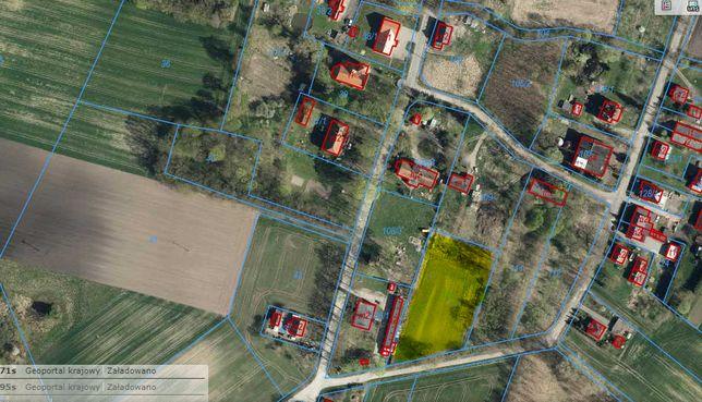 Działka rolna kl. IV Wałdowo