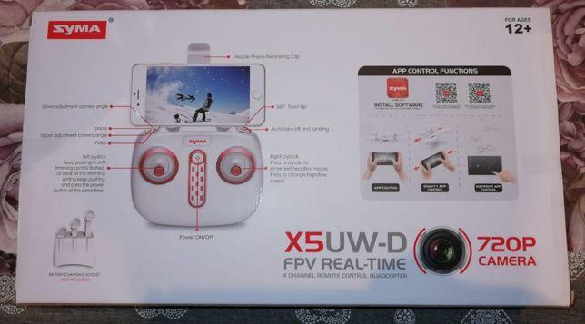 Dron X5UW-D z kamerą Wi-Fi sterowany z pada, lub smartfona