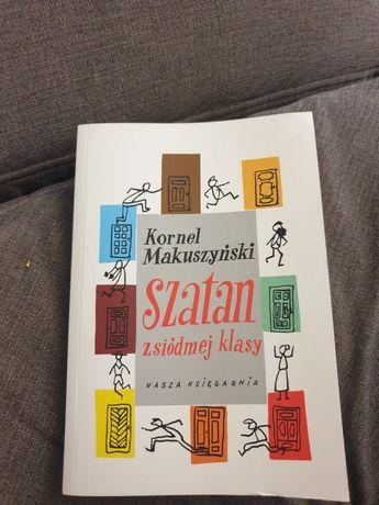 Lektura Szatan z siódmej klasy autora Kornela Makuszyńskiego