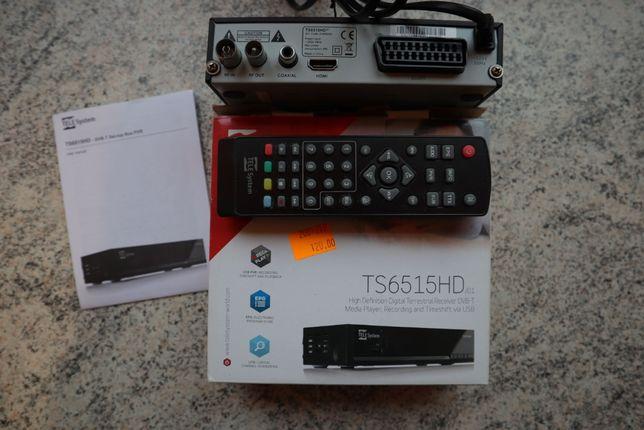 Odbiornik Naziemnej Tv Cyfrowej Telesystem TS 6515 HD