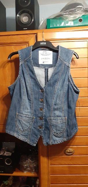 Kamizelka jeansowa C&A nowa r.42/XL za 28 zł z wysyłką