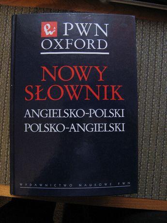 Nowy słownik Angielsko-Polski PWN Oxford + historyczna ksiazka